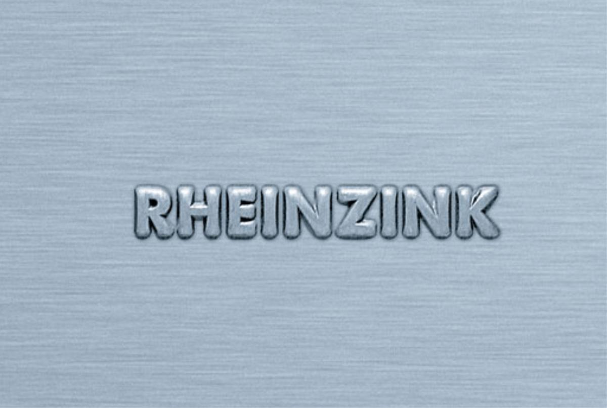 Rheinzink® lietaus nuvedimo sistema